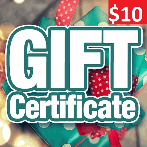 $10 Gift Certifcate