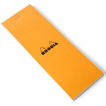 Rhodia Top Staple Bound No. 08 Notepad (3 x 8.25)