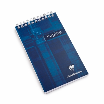 Clairefontaine Classic Pocket Top Spiral Bound Notepad (4 x 6.75) in Graph (squared pages) [8642]