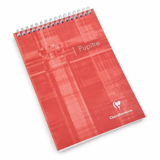 Clairefontaine Classic Large Top Spiral Bound Notepad (5.75 x 8.25) ( Graph (squared pages) [8662] )