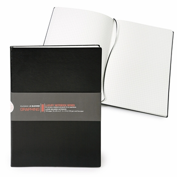 Blackwing Luxury Large Soft Cover Notebook (7.5 x 10) in Black