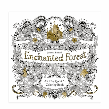 The Enchanted Forest Coloring Book