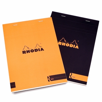 Rhodia Premium Staple No. 16 Notepad (6 x 8.25) in Orange