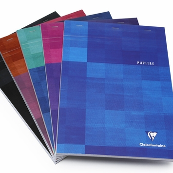 Clairefontaine Classic A4 Top Staple Bound Notepad (8.25 x 11.75) in Graph (squared pages) [6152]