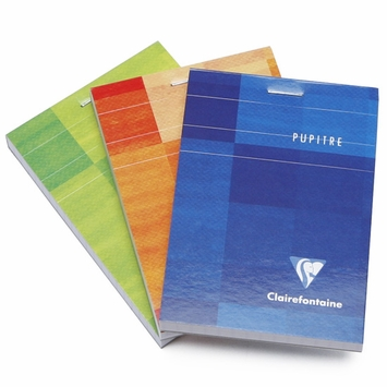 Clairefontaine Classic Mini Top Staple Bound Notepad (3 x 4) in Graph (squared pages) [6552]