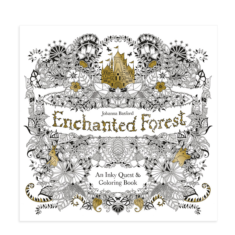 - The Enchanted Forest Coloring Book