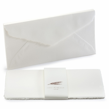 Amalfi Long Flat Note Cards with Envelopes (8 ct) (4.25 x 8.25)