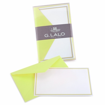 G. Lalo Double Bordered Correspondence Sets (3.25 x 5.25) in Anis