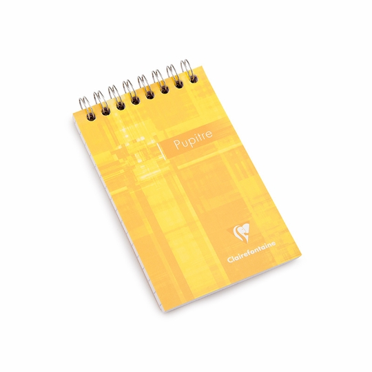 Clairefontaine Classic Mini Top Spiral Bound Notepad (3 x 4.75) ( Ruled (lined pages) [8556] )