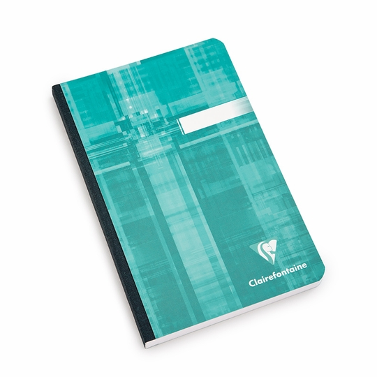 Clairefontaine Pocket Ruled Cloth Bound Notebook (4.75 x 6.75) ( Ruled (lined pages) [9606] )