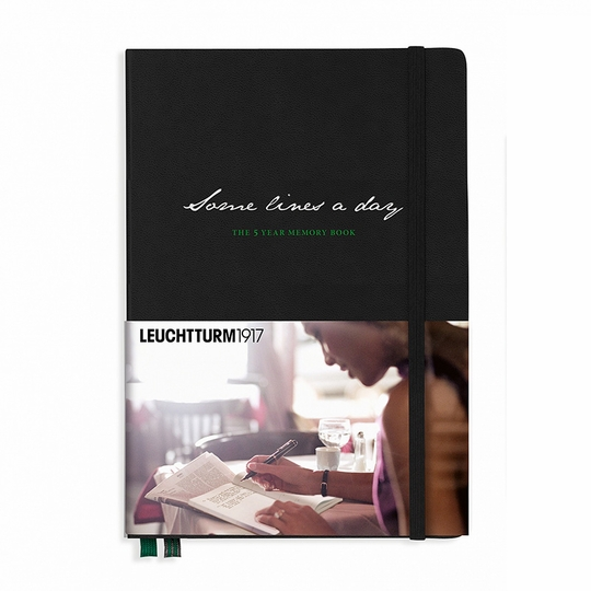 Leuchtturm1917 Some Lines A Day 5 Year Memory Book (5.75 x 8.25)