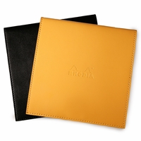 Rhodia Leatherette No. 210 Square Reverse Notepad Holder (8.25 x 8.25)
