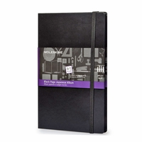 Moleskine Black Page Pocket Album (3.5 x 5.5)