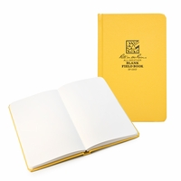 Rite in the Rain Large Hard Cover Plain Notebook (4.75 x 7.5)