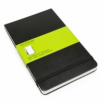 Moleskine Reporter Large Plain Notebook (5 x 8.25)