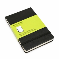 Moleskine Reporter Pocket Plain Notebook (3.5 x 5.5)