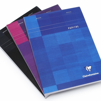 Clairefontaine Classic Large Top Staple Bound Notepad (6 x 8.25) in Graph (squared pages) [6662]