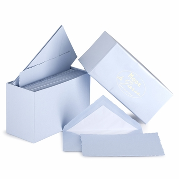 G. Lalo Mode de Paris Boxed Stationery (3.75 x 6) in Blue