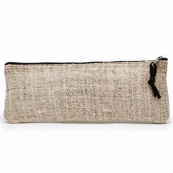 Hemp Lama Li Eco Hemp Brush Bag in Natural