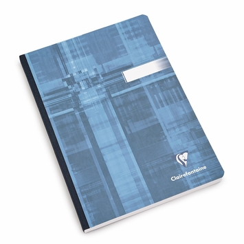Clairefontaine Large Cloth Bound Notebook (6 x 8.25) in Graph (squared pages) [9542]