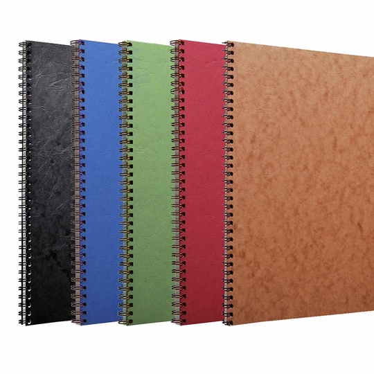 Clairefontaine Basics A4 Spiral Bound Notebook (8.25 x 11.75) ( Green )