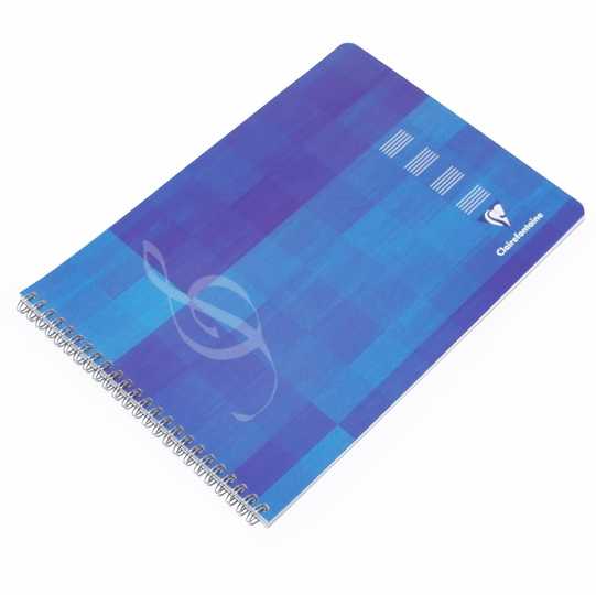 Clairefontaine Music Side Spiral Bound Notebook (11.75 x 8.75)