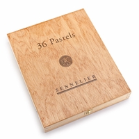 Sennelier Soft Pastel Wood Box (Set of 36)