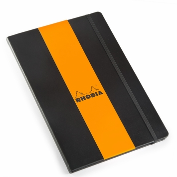 Rhodia 2021 Large Weekly Planner (6.25 x 9.5) in Black