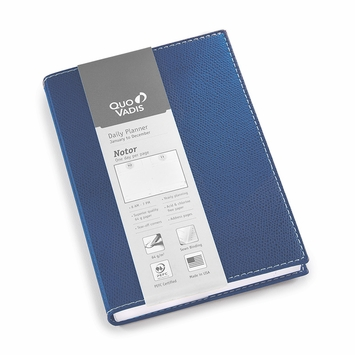 Quo Vadis 2021 Club Notor Planner (5 x 7) in Blue