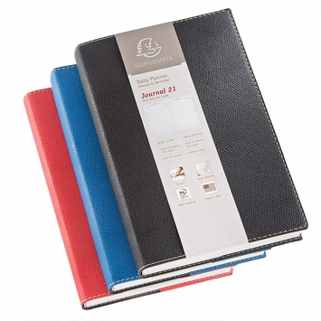 Exacompta 2021 Club Journal 21 Planner (5.25 x 8.25) in Red