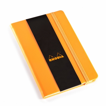 Rhodia 2021 Pocket Weekly Planner (4 x 6) in Orange