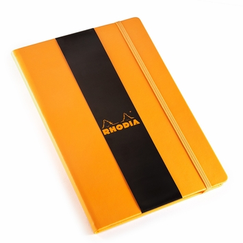 Rhodia 2021 Large Weekly Planner (6.25 x 9.5) in Orange