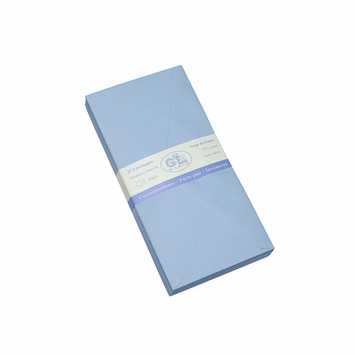 G. Lalo Verge de France Large Envelopes (4.25 x 8.5) in Blue