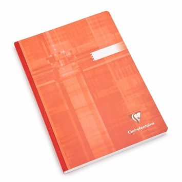 Clairefontaine Large Cloth Bound Notebook (6 x 8.25) in Ruled (lined pages) [69546]