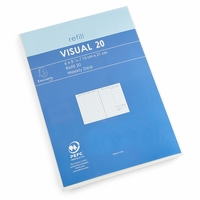 Exacompta 2021 Visual Weekly Planner Refill (Ref. #2001) (6 x 8.25)