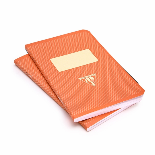 Clairefontaine Pocket Vintage Notebooks (3.5 x 5.5) ( Red )
