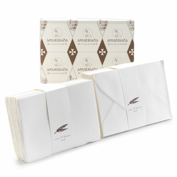Amalfi Folded Note Cards with Envelopes (50 ct) (4.5 x 6.75)