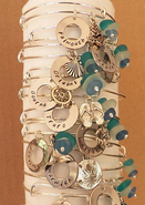 Custom Coastal Bangle