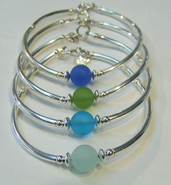 Cape Cod Colors Seaglass Bracelets
