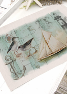 Coastal Collage Placemats