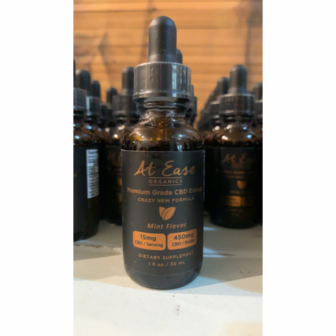 New Crazy Formula Mint 450mg CBD Oil Tinctures 30% Off Today!