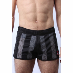 Midfield Reversible Mesh Short - White/Black M