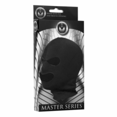 Master Series Spandex Hood With Eye and Mouth Holes - Black