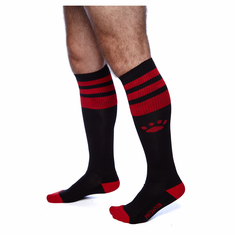 Prowler Red Football Socks - Black/Red O/S
