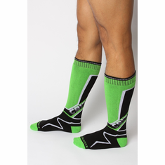 Kennel Club Mid-Calf Socks - Green O/S