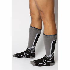 Kennel Club Mid-Calf Socks - Grey O/S