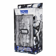 Tom of Finland Smooth Cock Enhancer - Clear