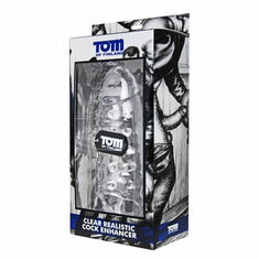 Tom of Finland Realistic Cock Enhancer - Clear
