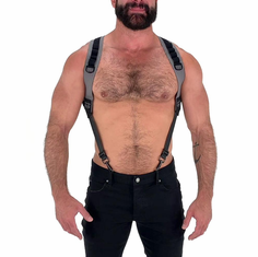 Maverick Harness - Grey/Black L/XL