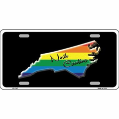 License Plate - NC Pride